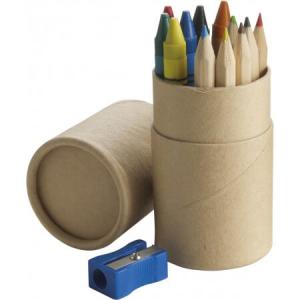 Bleistiftset, Braun