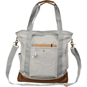 Harper Baumwoll-Canvas-Tasche mit Reißverschluss