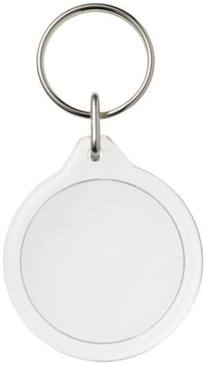 Runder Schlüsselanhänger aus Kunststoff