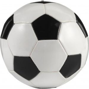PVC football, Black/white