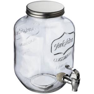 Getränkespender aus Glas
