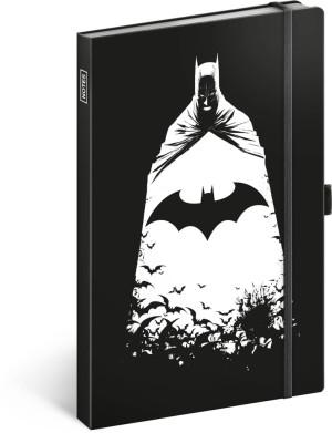 Notes Batman, linajkovaný, 13 x 21 cm