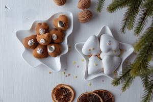 Jokkmokk Weihnachtliche Porzellanschale.