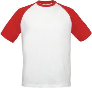 B&C  Raglan Kontrast T-Shirt