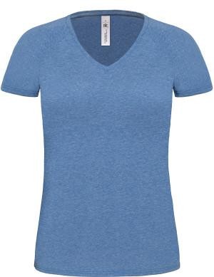 B&C | Damen Medium Fit V-Neck T-Shirt