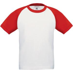 B&C   Kinder Raglan Kontrast T-Shirt