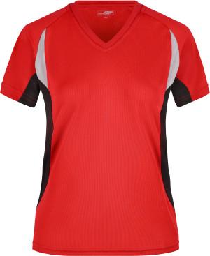 Damen V-Neck Lauf Shirt