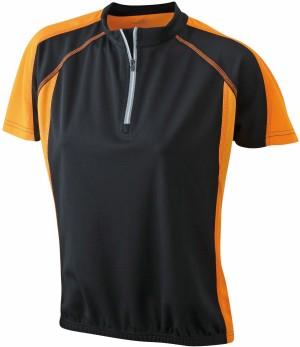 Damen Rad Shirt mit 1/4 Zip