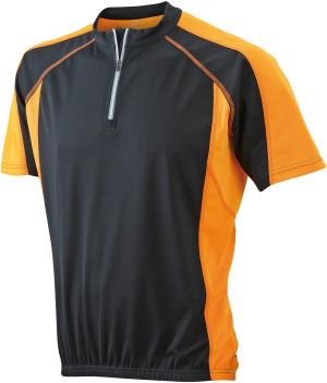 Herren Rad Shirt mit 1/4 Zip