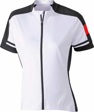 Damen Rad Shirt mit Zip