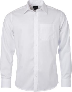 Mikro-Twill Hemd langarm