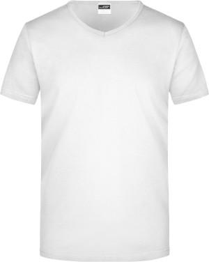 Körperbetontes Herren V-Neck T-Shirt