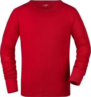 Herren Ripp T-Shirt langarm