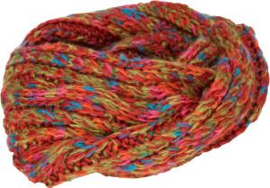 Schal aus Effektgarn
