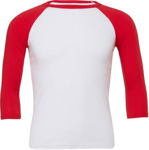 Unisex 3/4 Arm Baseball T-Shirt