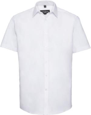 Herringbone Hemd kurzarm