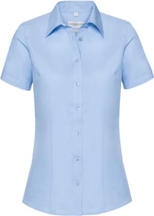 Coolmax® Bluse kurzarm