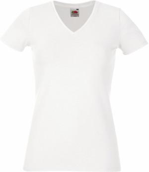 Damen Stretch V-Neck T-Shirt