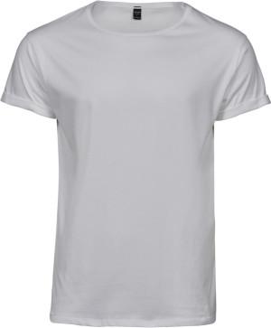 Herren T-Shirt mit Umschlag am Arm