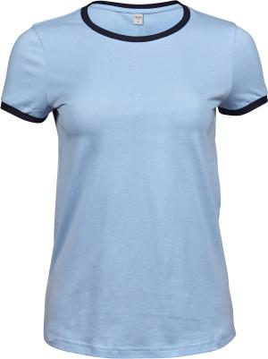 Damen Ringer T-Shirt