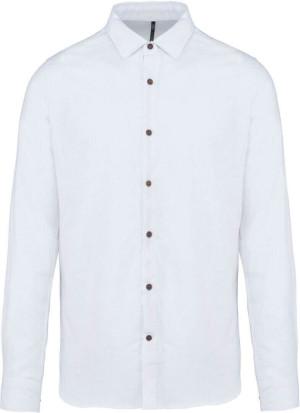 Leinen Hemd langarm