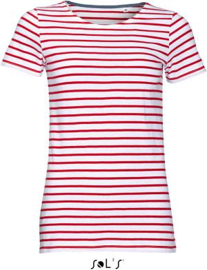 Damen T-Shirt gestreift