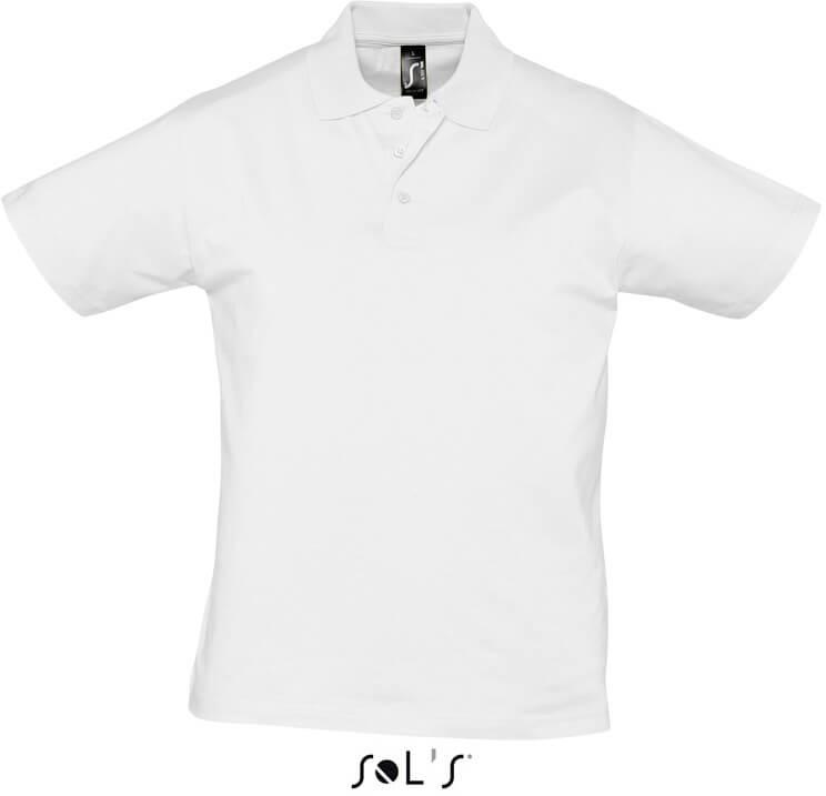 Herren Jersey Polo