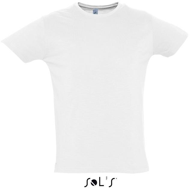 Herren Slub T-Shirt