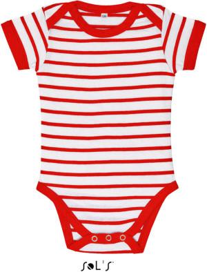 Baby Body gestreift