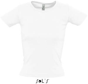 Damen Ripp T-Shirt