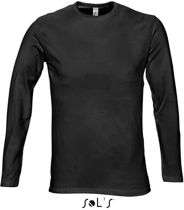 Körperbetontes Herren T-Shirt langarm