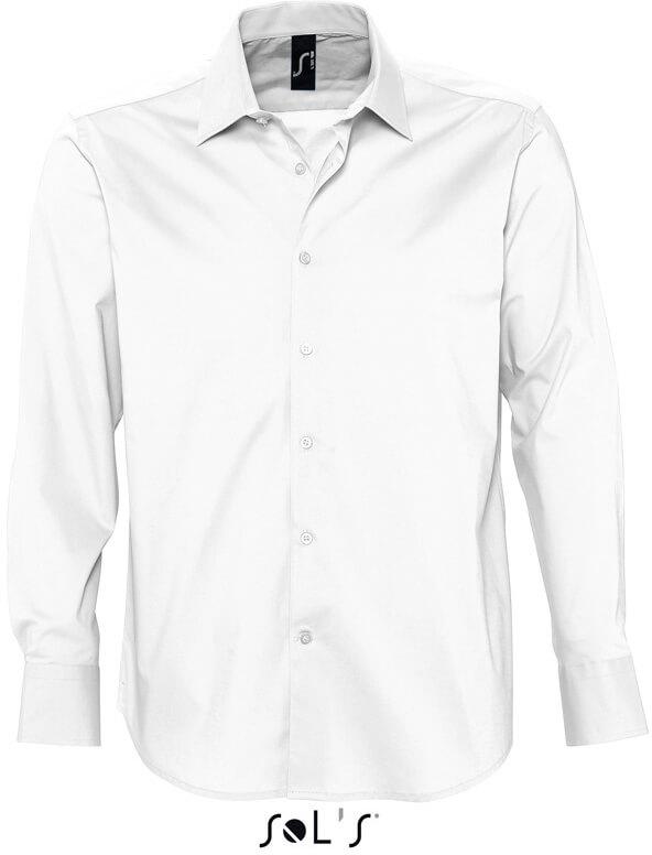 Stretch Hemd langarm