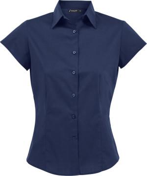 Stretch Bluse kurzarm