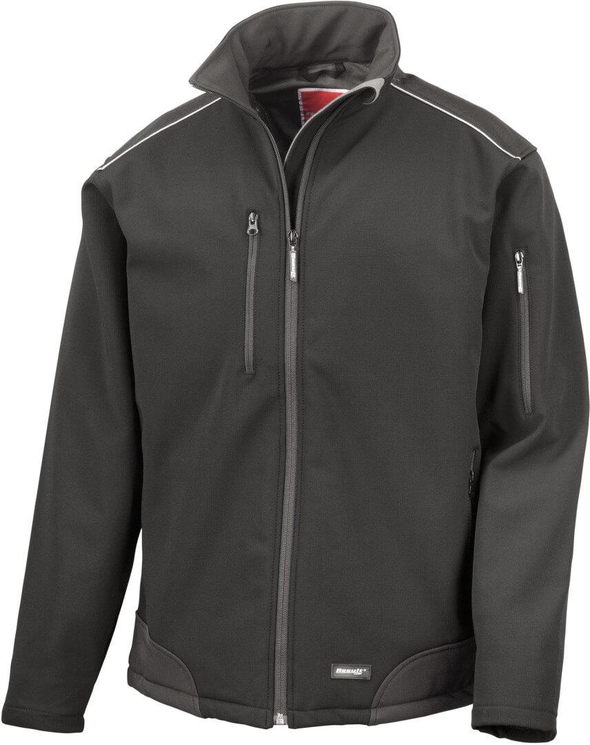 3-Lagen Softshell Ripstop Workwear Jacke