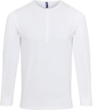 Herren Rollärmel T-Shirt langarm
