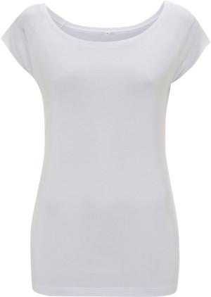 Damen Bambus-Jersey Raglan T-Shirt