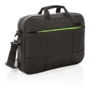 """Soho 15.6"""" Business Laptop-Tasche aus RPET, PVC-frei, schwar"""