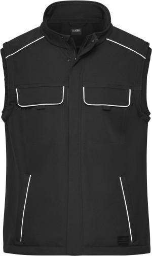 Workwear Softshell Gilet -Solid-