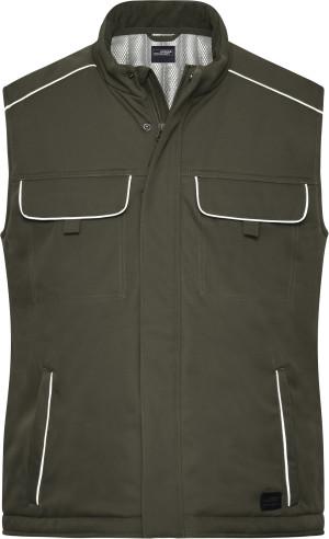Workwear Softshell Padded Gilet -Solid-