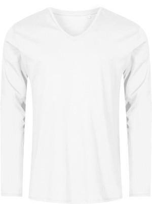 Herren X.O V-Neck T-Shirt langarm