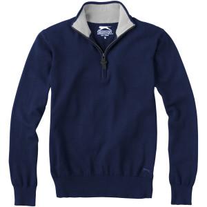 Set Pullover mit Viertel-Reißverschluss