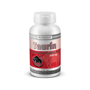 Taurín 600 mg/120 kps