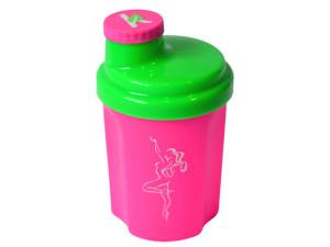 Kunststoff-Shaker für Frauen 300ml