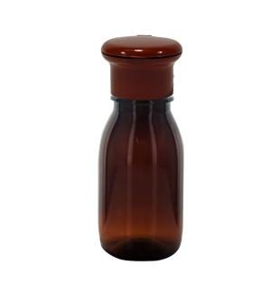Braune Flasche mit Clip 50ml