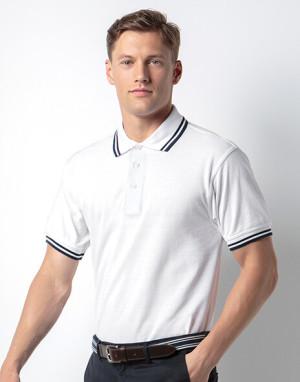 Tipped Collar Poloshirt